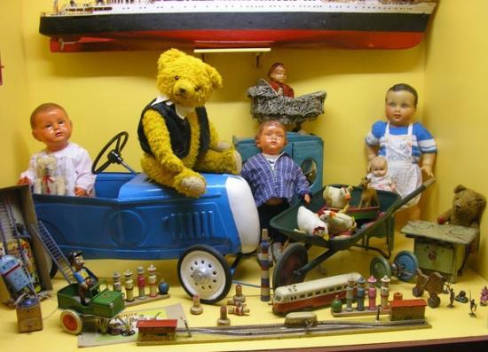 Le musée du jouet 1900